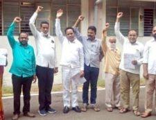 Jamnertalukanuksan grast Shetkari bharpai by governmentdemanded byKhandesh teli Samaj Mandal