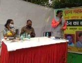 one day dharnaAndolan forTeli Samaj NT caste status inDelhi Jantar Mantar