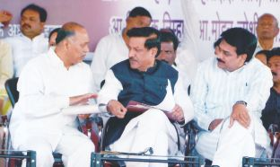 Chief Minister Prithviraj Chavan & prakasasetha Pawar discussion about teli samaj