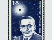 Dr Meghnad Saha stamp