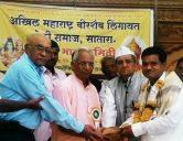 Veershaiv Lingayat teli samaj Satara vice president Pramod Deshmane