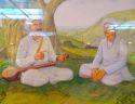 sant santaji maharaj jagnade Maharaj with sant tukaram maharaj