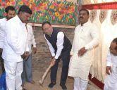 shri sant santaji jagnade sanskritik bhavanache bhoomi poojan by Ministry Chandrashekhar Bawankule
